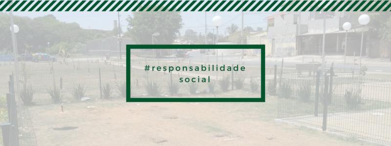 Responsabilidade social: Revitalização da praça do Jardim Planalto (Viracopos)